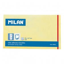 """Lipnūs lapeliai """"Milan"""" 76x127, gelsvi, 100l"""