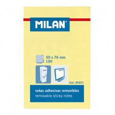"""Lipnūs lapeliai """"Milan"""" 50x76, gelsvi, 100l"""