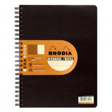 "Užrašų knygelė ""Rhodia"" EXAbook 22,5x29,7 cm, 90 g, 80 l."