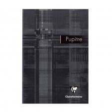 """Bloknotas """"Pupitre"""" 90g, A5, 80l,  juodas, langeliai"""