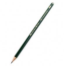 """Pieštukas """"Castell 9000"""" t. žalias, šešiabriaunis"""