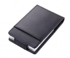 Kreditinių kortelių dėklas TROIKA BLACK & SILVER