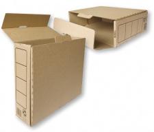 Archyvinė dėžė    80mm,  A4, kartonas