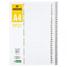 Skiriamieji lapai 1-31, PP, A4