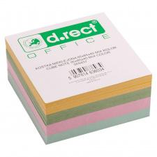 """Lapeliai užrašams """"d.rect"""" 85x85x40mm , 4 spalvų, 500l"""