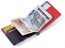 Kreditinių kortelių dėklas TROIKA RED PEPPER