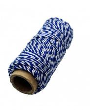 Notariniai siūlai 35m mėlyni
