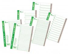 Skiriamieji lapai 1-20, PP, A4