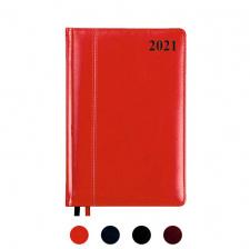 """Darbo kalendorius """"Ambassador"""" 2021, dieninis, A5, PU viršeliu"""