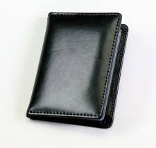 Kortelių dėkliukas, odinis, 8x10,5