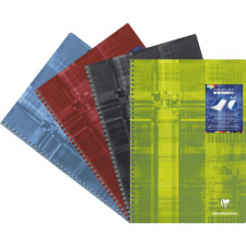 "Sąsiuvinis ""Triplet book"" A4, 90 g, 90 l., eilutės, spirale 1vnt."
