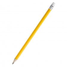 """Pieštukas """"Kyna"""", su trintuku, geltonas, ovalus"""