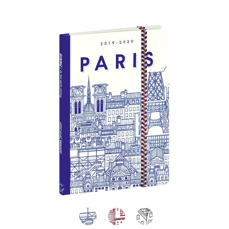 "Planavimo kalendorius ""Docteur Paper"" 2020, savaitinis, 15x21cm"