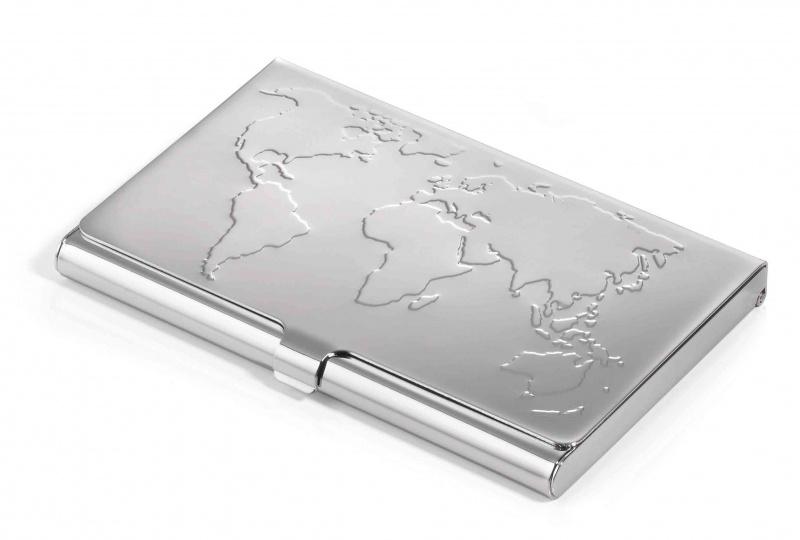 Vizitinių kortelių dėklas TROIKA BUSINESS WORLD