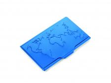 Vizitinių kortelių dėklas TROIKA GLOBAL CONTACTS