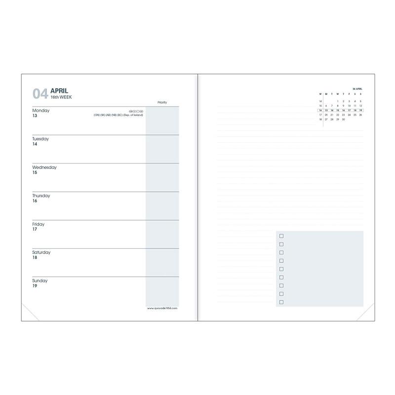 """Planavimo kalendorius """"Marguy Adults"""" 2020, savaitinis, 15x21cm"""