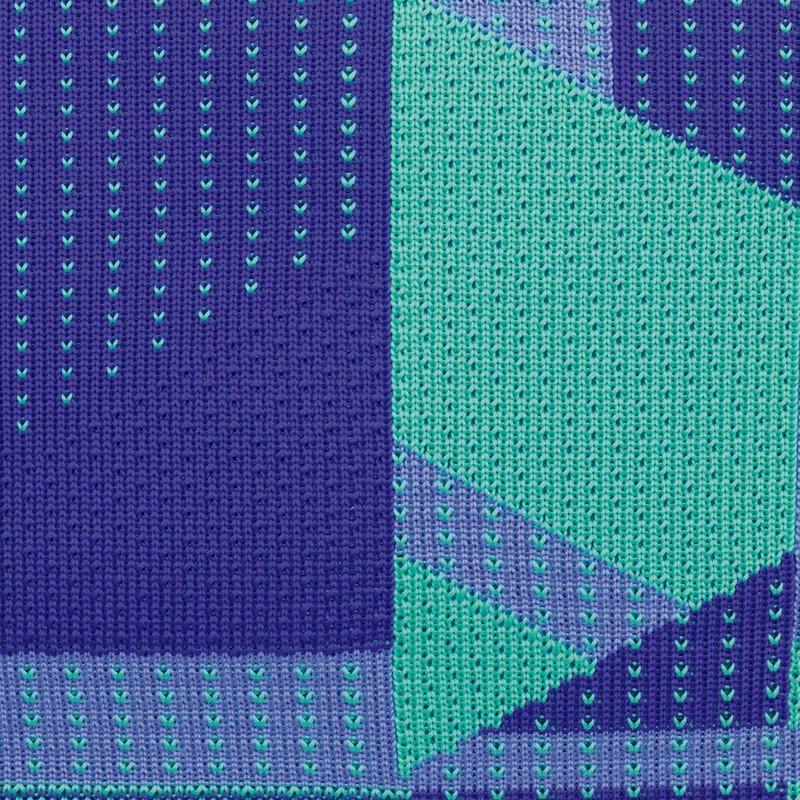 """Kuprinė """"Milan Knit purple and green"""""""