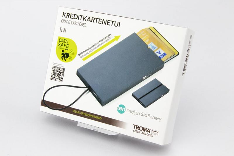 Kreditinių kortelių dėklas TROIKA TEN