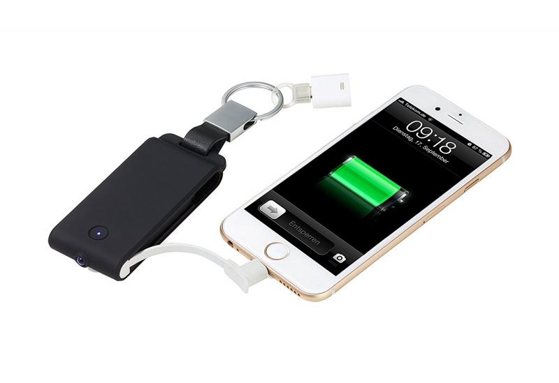 Išorinė baterija TROIKA POWER KEYRING