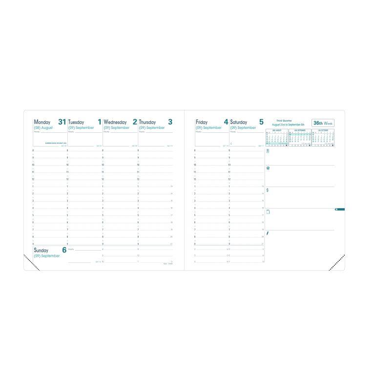 Planavimo kalendorius QUO VADIS EXECUTIVE CLUB/SOHO