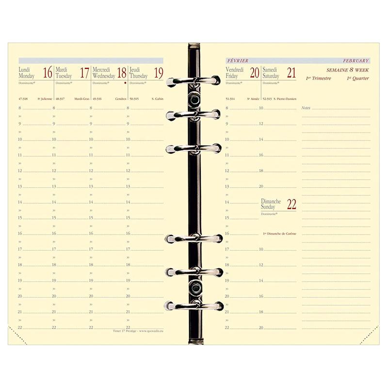 """Planavimo kalendorius """"Timer 17"""" 2020, savaitinis, 10x17, Soho viršeliu"""